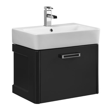 Tavistock Q60 600mm Wall Mounted Vanity Unit - Graphite
