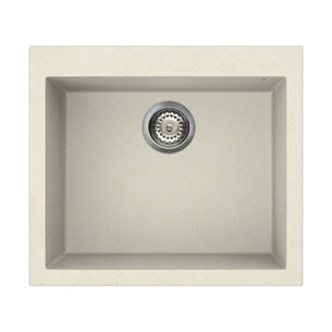 Reginox Quadra 105 Cream Undermount Granite Sink