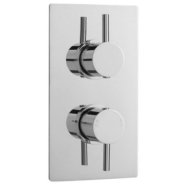 Premier Quest Twin Control Thermostatic Shower Valve with 2-Way Diverter