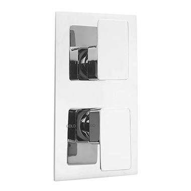 Sagittarius Ravenna Concealed Thermostatic Shower Valve Chrome