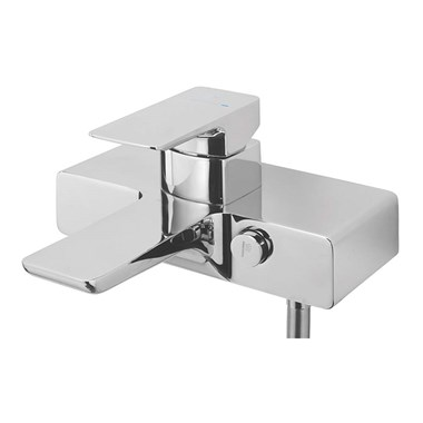 Sagittarius Ravenna Push Button Thermostatic Bath Shower Mixer Chrome