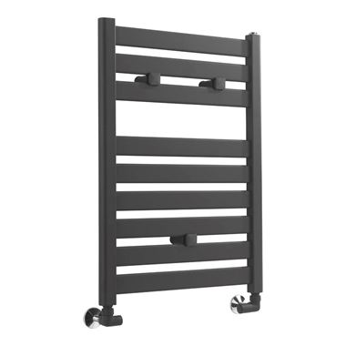 Sagittarius Avon Heated Towel Rail - Anthracite