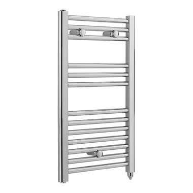 Sagittarius Severn Electric Straight Towel Radiator - Chrome