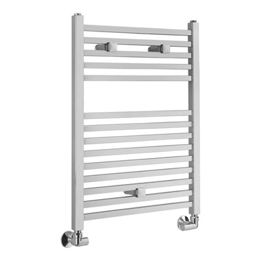 Sagittarius Orwell Straight Heated Towel Radiator - Chrome