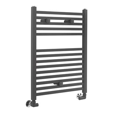 Sagittarius Orwell Straight Heated Towel Radiator - Anthracite