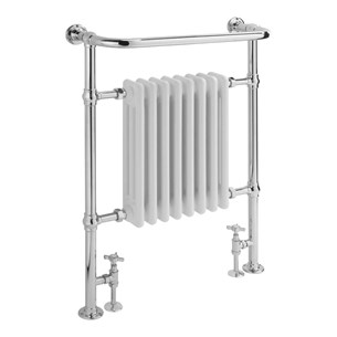 Sagittarius Harrow Traditional Heated Radiator - 945 x 640mm