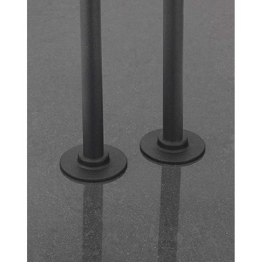 Sagittarius Pair 15mm Pipes & Covers - Anthracite - 180mm
