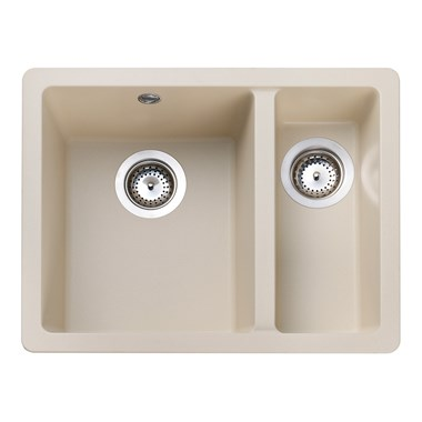 Rangemaster Paragon 1.5 Bowl Igneous Stone Sink & Waste Kit