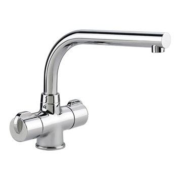 Rangemaster Aquadisc 3 Monobloc Kitchen Sink Mixer Tap - Chrome