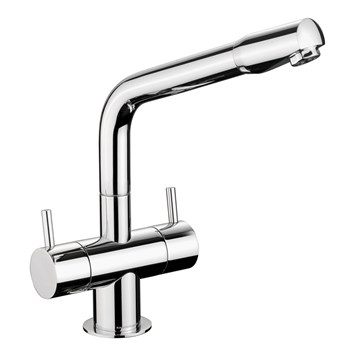 Rangemaster Aquadisc 1 Monobloc Kitchen Sink Mixer Tap - Chrome