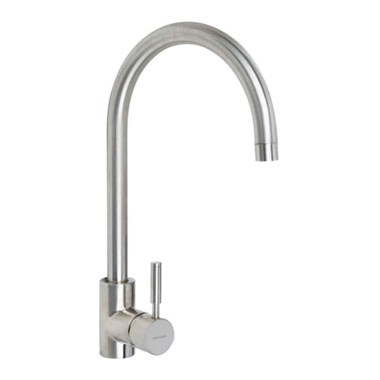 Rangemaster Aquatrend Single Lever Kitchen Mixer Tap - Brushed Chrome