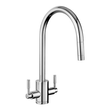 Rangemaster Aquatrend Kitchen Mixer Tap with Pull Out Spout
