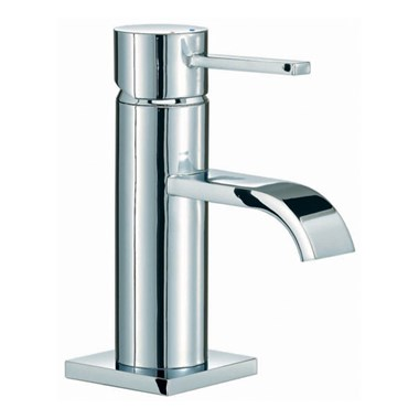 Mayfair Wave Mono Basin Mixer with Pop-Up Waste