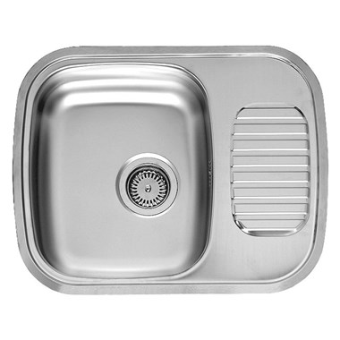 Reginox Regidrain Single Bowl Stainless Steel Inset Sink & Waste