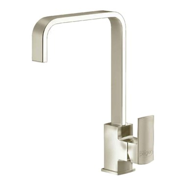 Reginox Astoria Single Lever Mono Kitchen Mixer Tap - Brushed Nickel