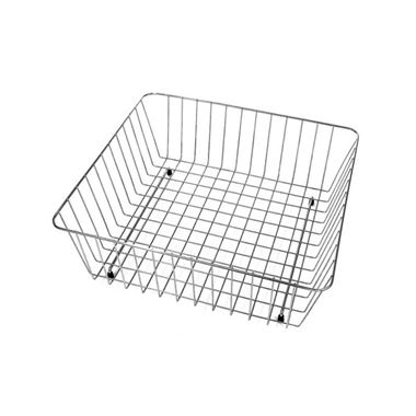 Wire Basket & Plate Drainer for Single Bowl Sinks