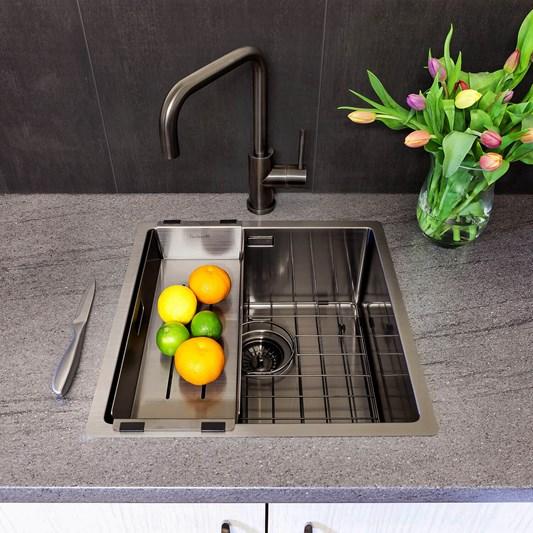 Surprising Reginox Miami Single Bowl Integrated Undermount Stainless Interior Design Ideas Apansoteloinfo
