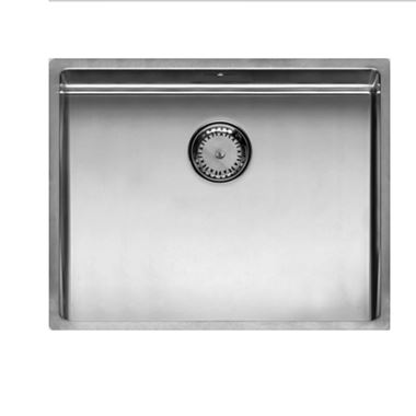 Reginox New York 1 Bowl Large Undermount Stainless Steel Kitchen Sink & Waste - 540 x 440mm