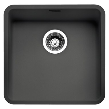 Reginox Ohio 1 Bowl Integrated Undermount Granite Composite Kitchen Sink & Waste Kit - 440 x 440mm