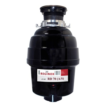 Reginox 0.65hp RD70 Line Waste Disposal Unit and Extended Sink Flange