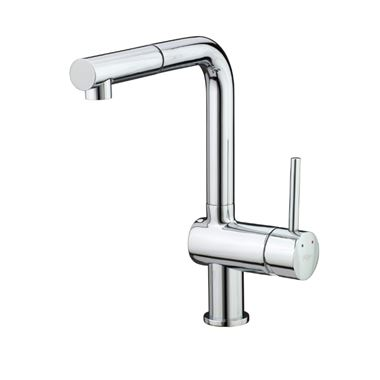 Vellamo Savu Single Lever Mono Pull Out Kitchen Mixer Tap