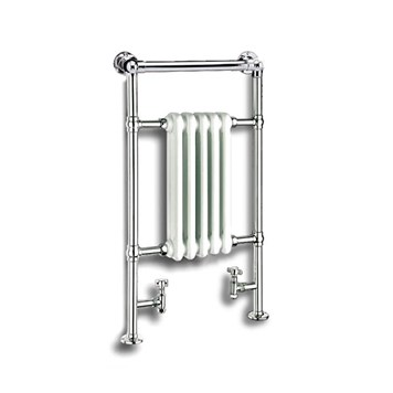Reina Oxford Chrome Traditional Designer Radiator