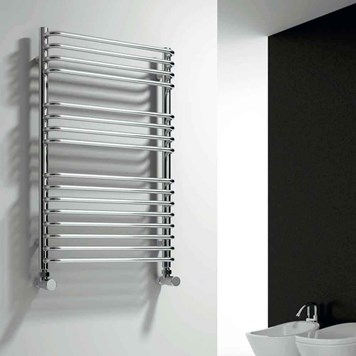 Reina Isaro Designer Steel Bathroom Heated Towel Rail Radiator