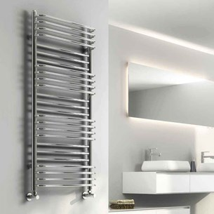Reina Marco Designer Steel Bathroom Heated Towel Rail Radiator