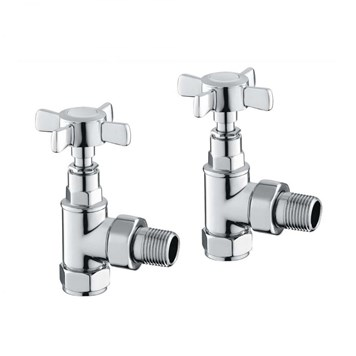 Butler & Rose Bronte Straight Radiator Valves