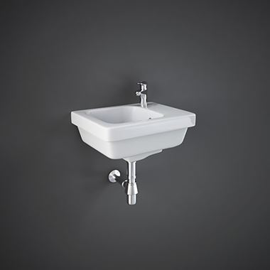 RAK Resort Wall Hung Small Cloakroom Basin 360mm
