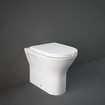 RAK Resort Back to Wall Rimless Toilet with Soft Close Seat
