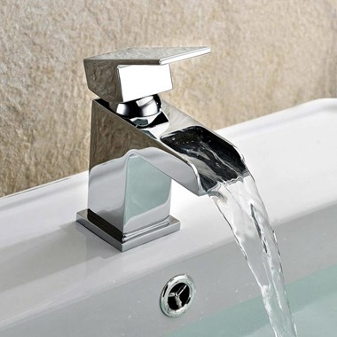Vellamo Reve Mini Cloakroom Waterfall Basin Mixer