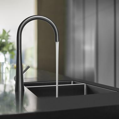 Caple Ridley Single Lever Mono Kitchen Mixer - Gunmetal