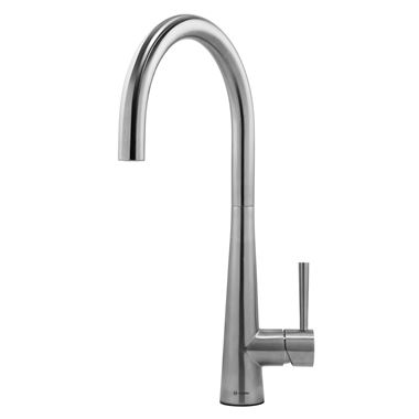 Caple Ridley Single Lever Mono Kitchen Mixer - Stainless Steel