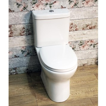 Harbour Rimless Toilet with Soft Close Seat