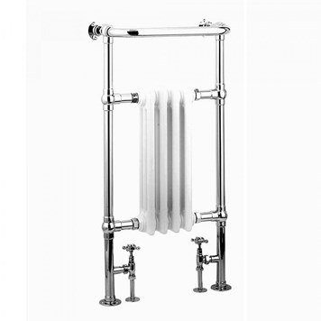 Reina Alicia Chrome Traditional Designer Radiator - H960 x W495mm