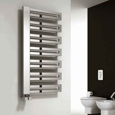 Reina Ginosa Designer Steel Bathroom Heated Towel Rail Radiator - 1000 x 500mm