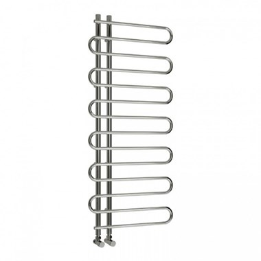 Reina Jesi Designer Steel Bathroom Heated Towel Rail Radiator - 1000x500
