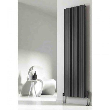 Reina Raile Steel Vertical Designer Radiator - Anthracite