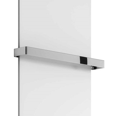Reina Slimline Vertical Radiator - Towel Bar 500mm