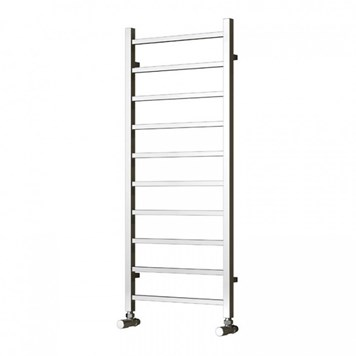 Reina Serena Bathroom Straight Chrome Heated Towel Rail Radiator