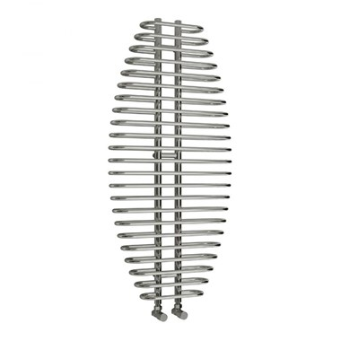 Reina Teano Designer Steel Bathroom Heated Towel Rail Radiator - 1300 x 600mm