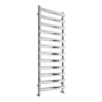 Reina Deno Stainless Steel Bathroom Heated Towel Rail Radiator - Polished