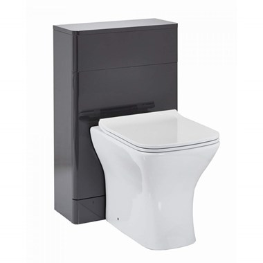 Harbour Identity 500mm Back to Wall Toilet Unit - Wolf Grey