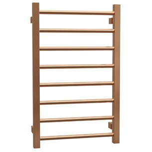Brenton Rose Gold Ladder Towel Radiator - 800 x 500mm