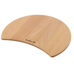 Reginox Wooden Cutting Board for Galicia and Round Bowl Set Kitchen Sinks
