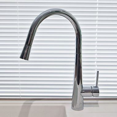 Vellamo Architect Pullout Spout Mono Kitchen Sink Mixer