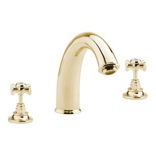 Sagittarius Churchman Gold 3 Hole Bath Filler