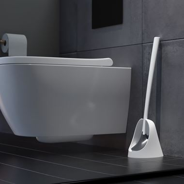 Sanimaid Oslo Hygienic Toilet Bowl Cleaner & Floor Stand - White or Black