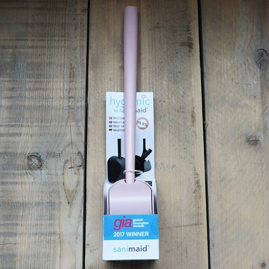 Sanimaid Paris Hygienic Toilet Bowl Cleaner & Wall Holder - Pink